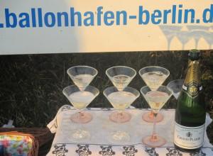 traditionelle Champagnertaufe - Gebrüder Montgolfier